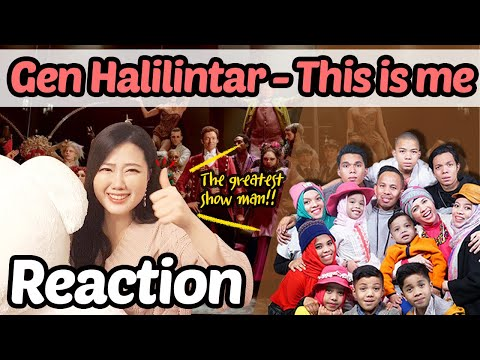 Reaction To Gen Halilintar (Cover)- This Is Me