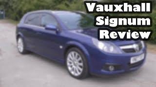 Vauxhall Signum Car Review - 1.9 CDTI