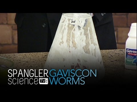 Gaviscon Worms - Cool Science Experiment