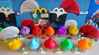 2017 Smurfs The Lost Village Toys Full Set in Happy Meal McDonalds Europe