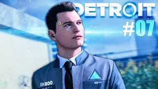 DETROIT BECOME HUMAN : COURSE POURSUITE ! - Let's play #07