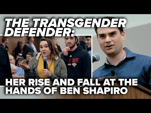 THE TRANSGENDER DEFENDER: Her rise and fall at the hands of Ben Shapiro