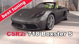CSR Racing 2 Best Tier2 car: 718 Boxster S tunning - CSR Racing 2 beating Shana's Range Rover Evoque