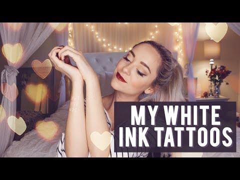 MY WHITE INK TATTOOS!