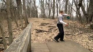 Christian James, Disc Golfer With A Purpose- Eli