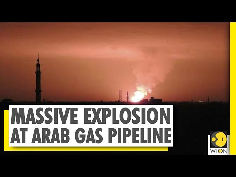 Arab gas pipeline explosion caused Syria blackout | WION News | World News