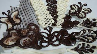 افكار للتزيين واللعب بالشوكولاته 😍 بأشياء بسيطه من مطبخكamazing cake decoration