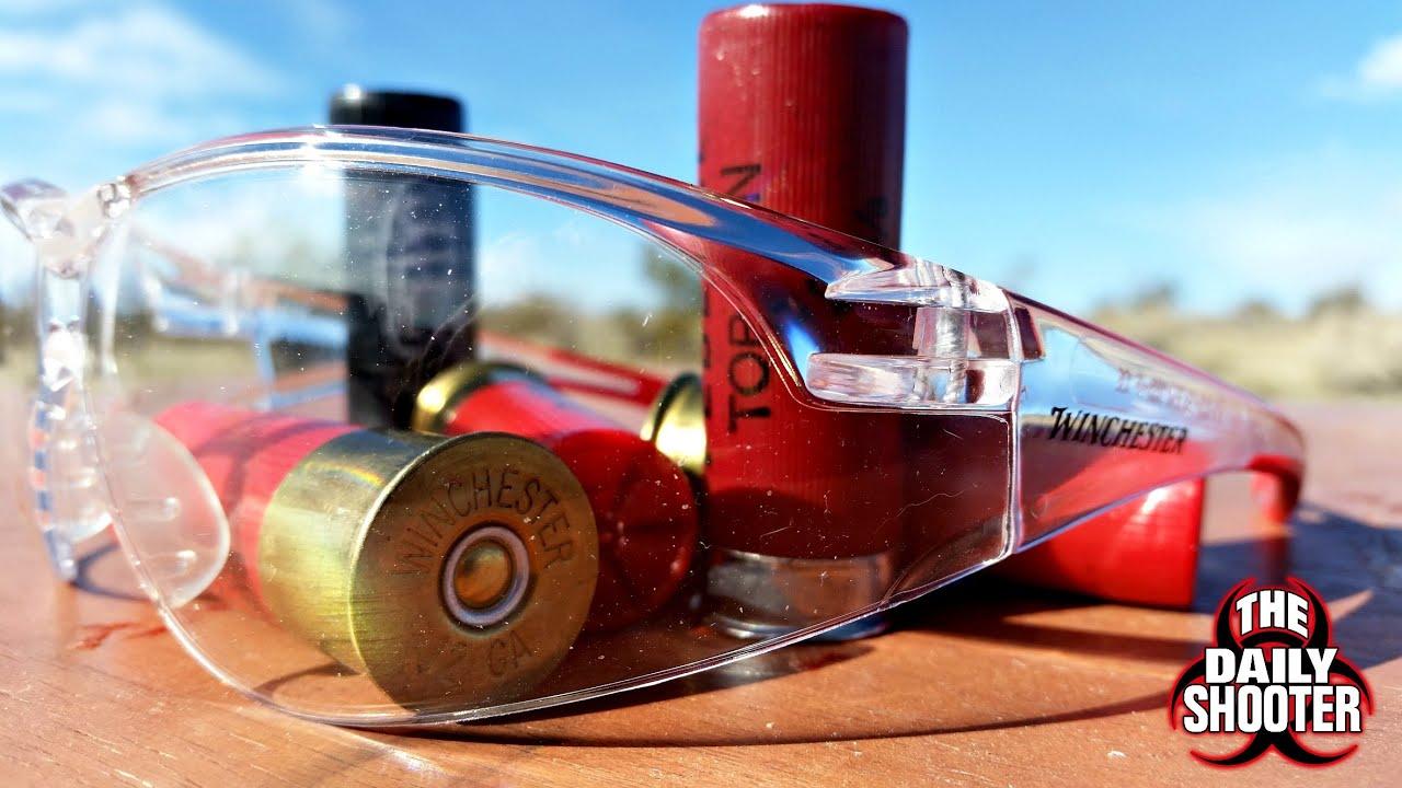 12 Gauge Shotgun vs Safety glasses