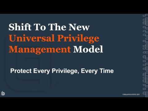 BeyondTrust: Journey to Achieving Universal Privilege Management