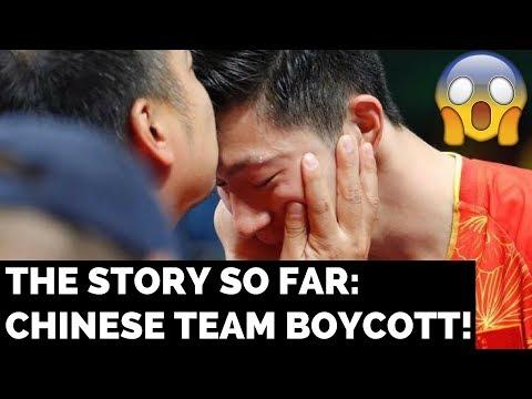 CHINESE NATIONAL TEAM BOYCOTT: THE STORY SO FAR