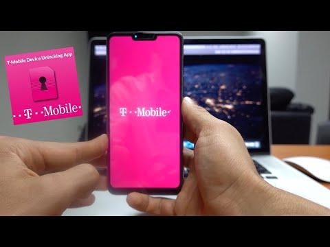 T-Mobile Unlock App - Solución De Problema Para Samsung, LG, Motorola, Etc.