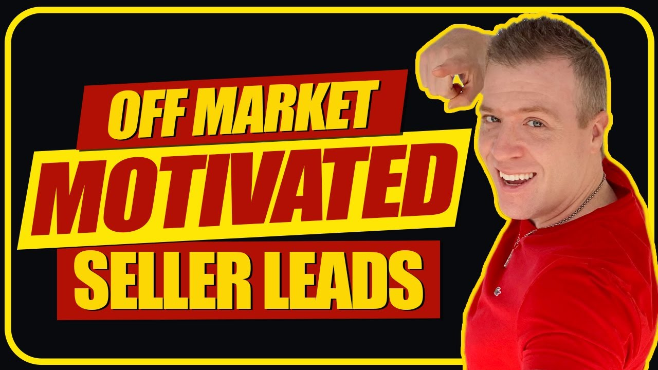 Off Market Motivated Seller Leads With No Competition