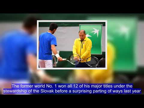 Footage has emerged of Novak Djokovic training with former coach Marian Vajda as the 12-time Grand S