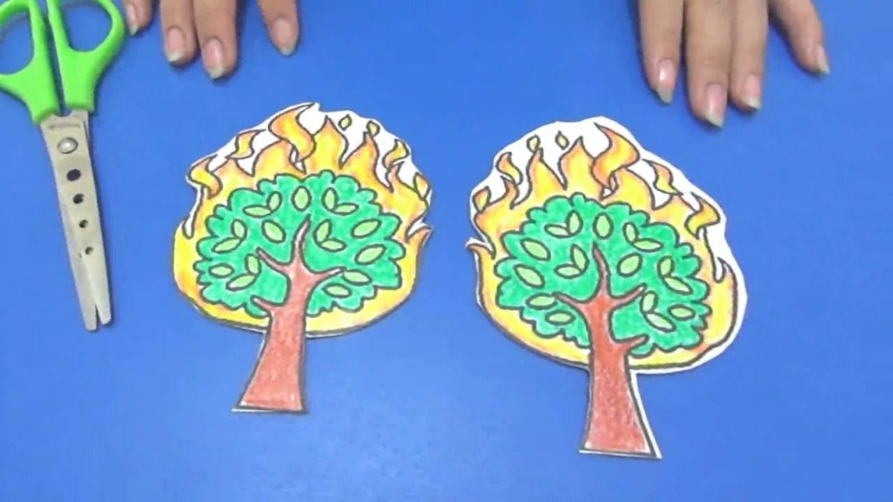 Bahan Kreativitas Sekolah Minggu Cara Membuat Pohon Yang Bisa