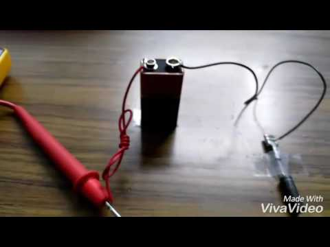 Testing High Voltage Diode Of Microwave Oven