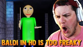 OH HECK NO THIS IS WAY TOO SCARY... | Baldi