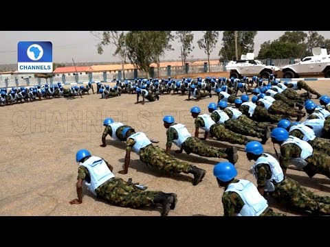 Nigerian Army Sends 197 Soldiers To Gambia For Peacekeeping Mission