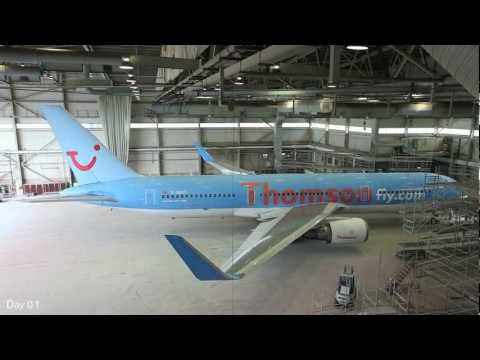 Thomson Airways - Modernising the Airline (Time-Lapse)