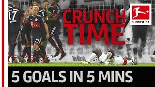 The league of late drama - bundesliga madness on matchday 17
