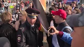 В Санкт-Петербурге полиция задержала около 15 ЛГБТ-активистов