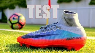 Cristiano Ronaldo Boots Test | Nike Mercurial Superfly | Champions League 2017