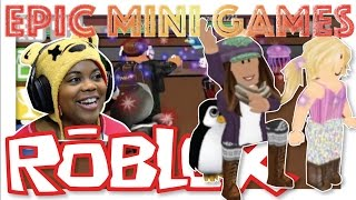 Playing with #OfficialBuddies   Epic Minigames   Roblox Mario Party   Online Gameplay