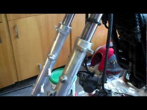 How to make motorcycle front fork tubes look shiny again from YouTube · Duration:  3 minutes 30 seconds