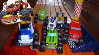 Blaze and the Monster Machines Race Adventure - Lets Blaze!!!