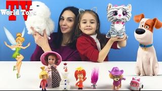 ЧЕЛЛЕНДЖ узнай свои игрушки. Арина угадывает все любимые игрушки | challenge love toys