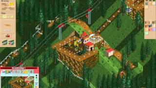Let S Play Rollercoaster Tycoon 124 Lightning Peaks 30 Meter Mountains