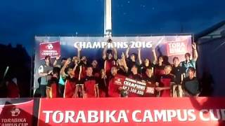 UNP Juara Torabika Campus Cup 2016 Regional Sumatra Barat