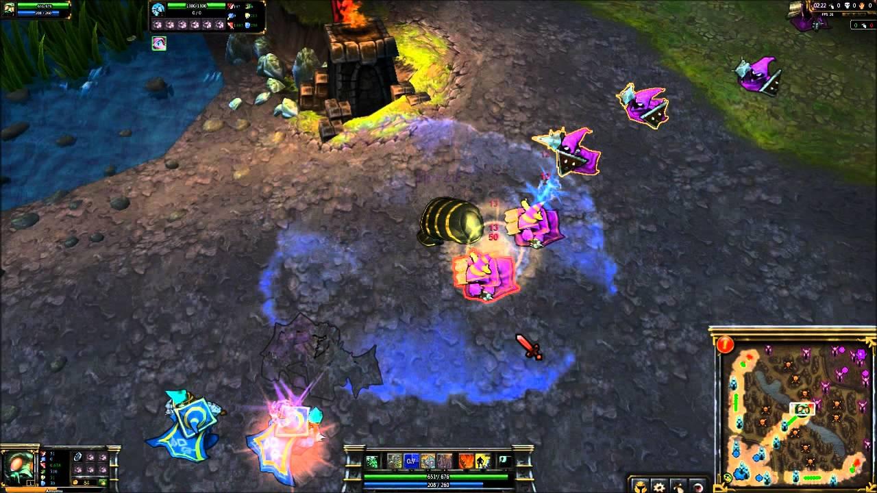 League of Legends: Pharaoh Amumu In-Game Skin