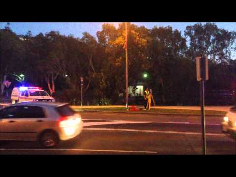 Onscene MVA Scene - Queensland Police Service - Traffic Crash, Noosa Heads