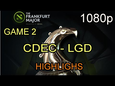 CDEC vs LGD Game 2 The Frankfurt Major 2015