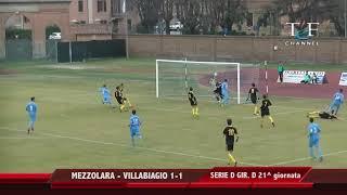 Serie D Girone D Mezzolara-Villabiagio 1-1
