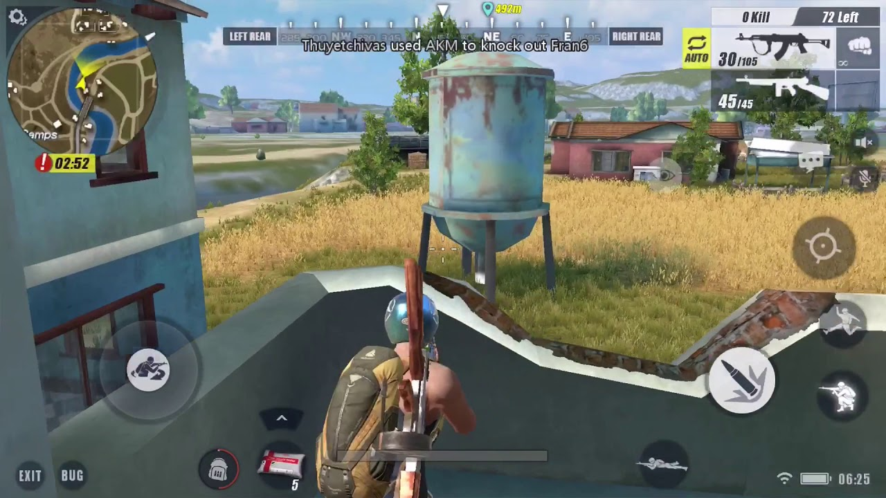 rules of survival on ps4 controller