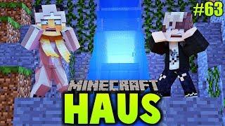 WIR FINDEN EINEN OP SCHATZ HINTER DEM WASSERFALL! ✿ Minecraft HAUS #63 [Deutsch/HD]