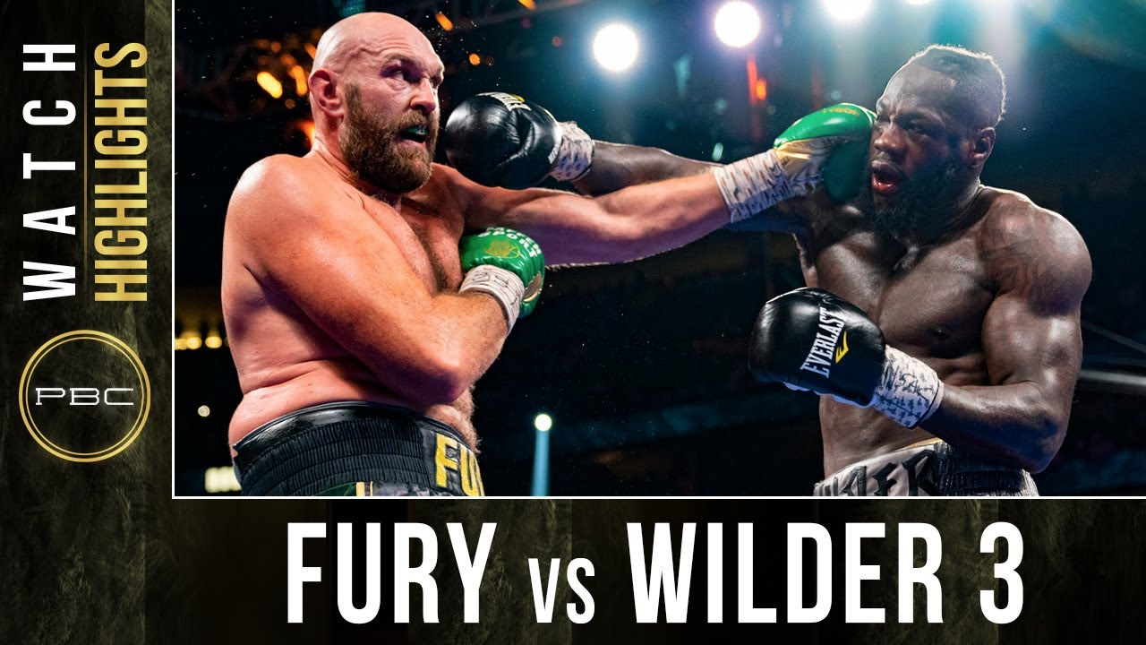 Download Tyson Fury vs Deontay Wilder TRILOGY HIGHLIGHTS: October 9, 2021