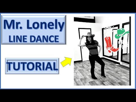 Mr Lonely Line Dance (Tutorial) thumbnail