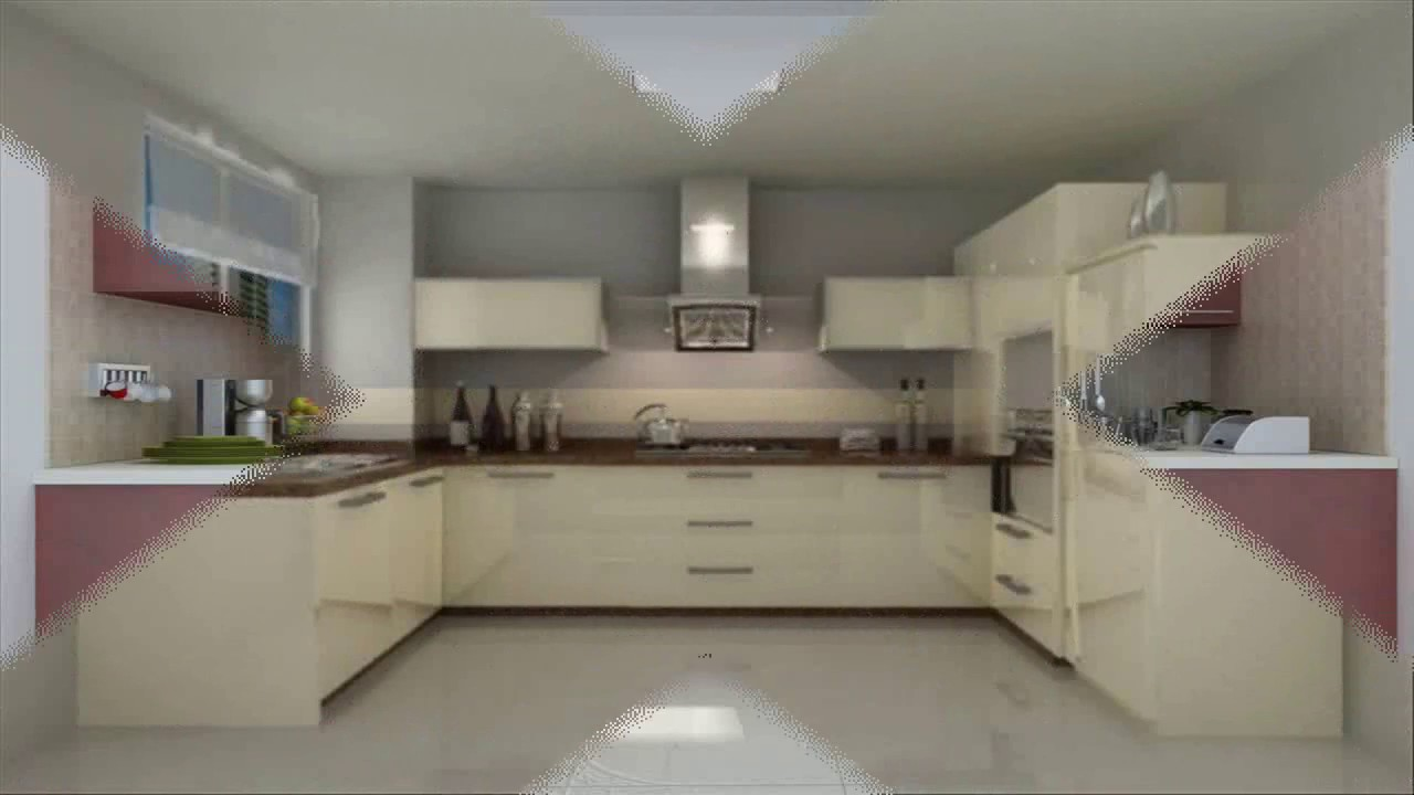 c shaped modular kitchen designs - youtube