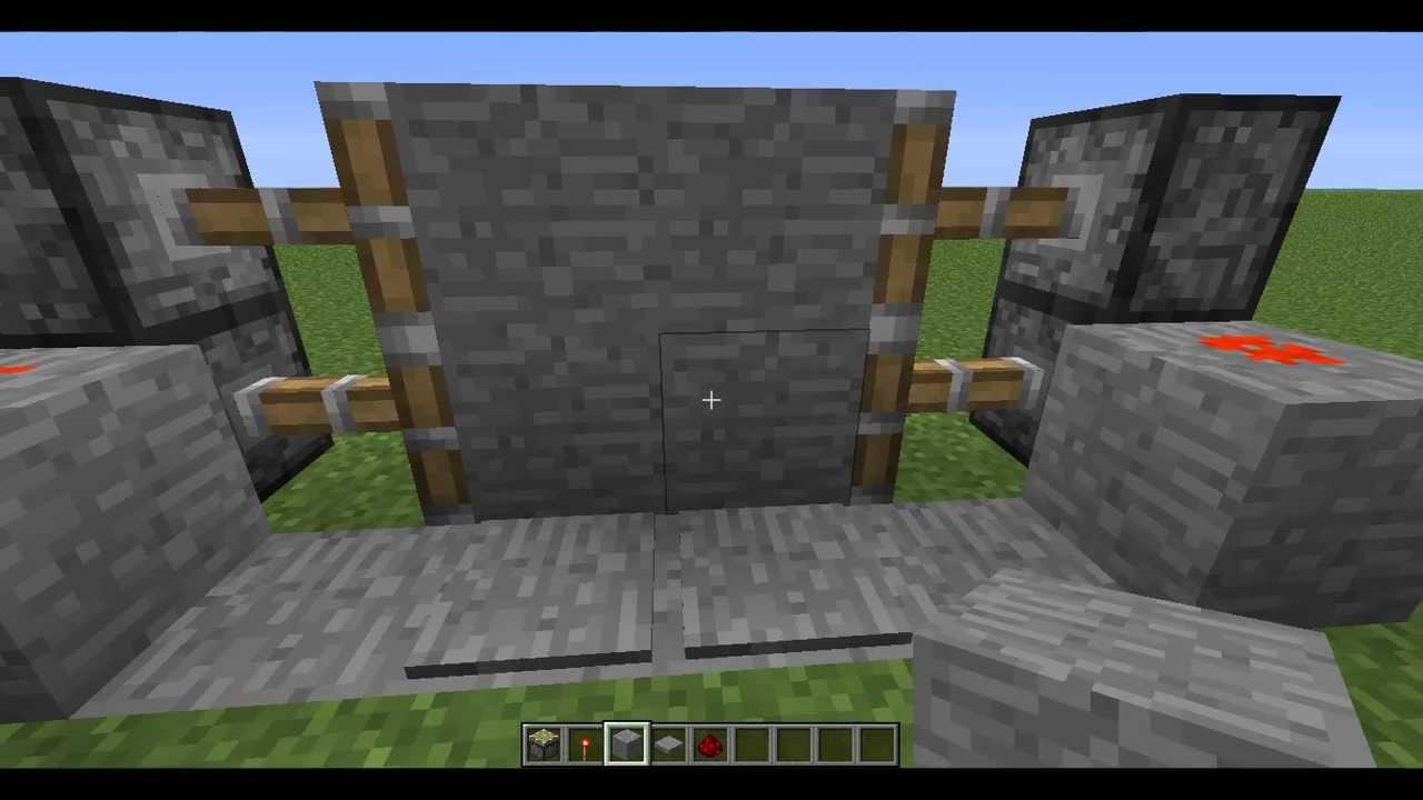 Come costruire una porta scorrevole su minecraft youtube - Costruire porta scorrevole ...