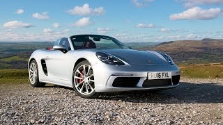 Porsche 718 Boxster   Chris Harris Drives   Top Gear