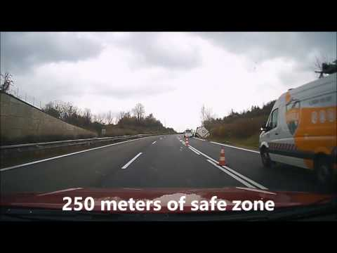 Road incident in Slovakia