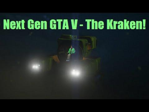 how to get kraken gta v