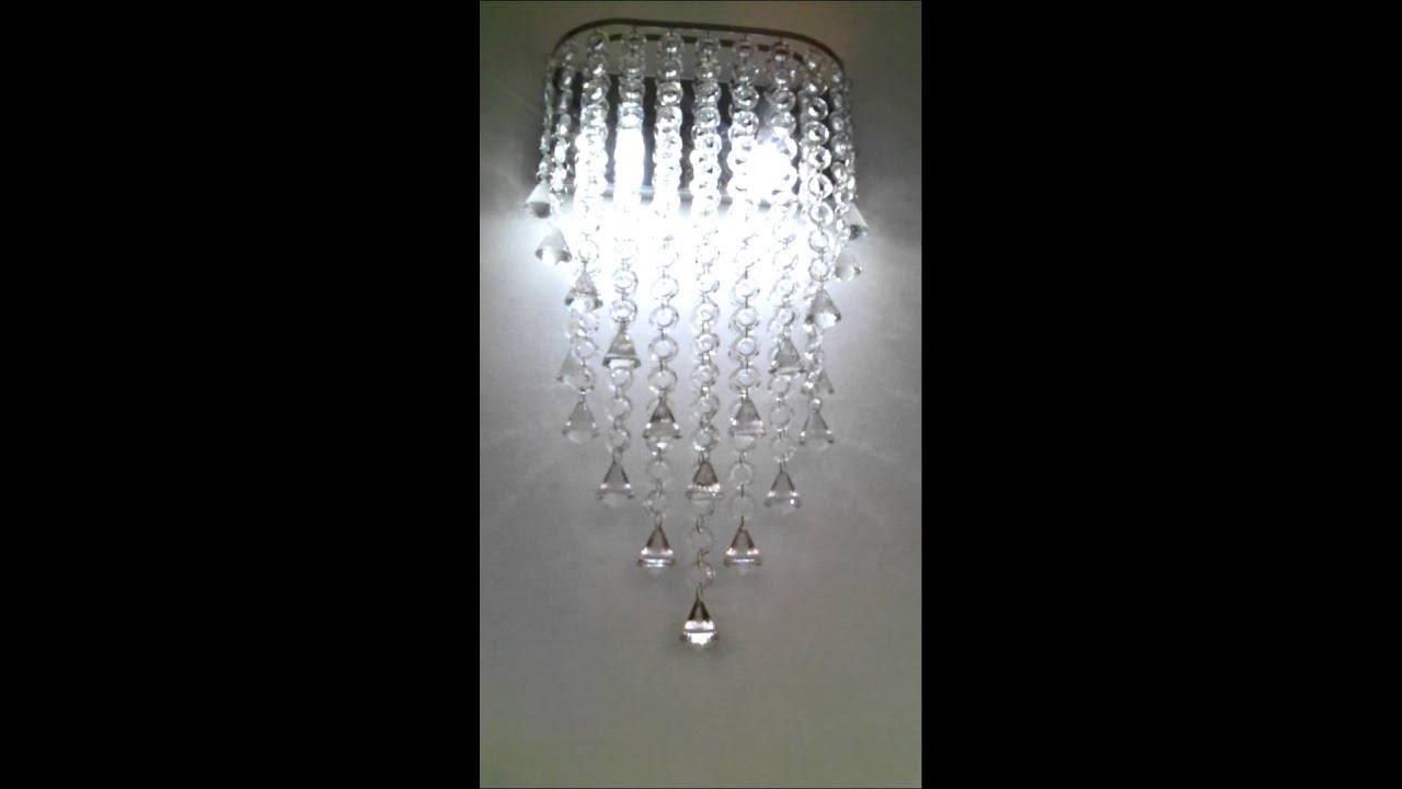 Lamparas modernas en cristal youtube - Lamparas arana modernas ...