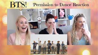 BTS: 'Permission to Dance' Reaction