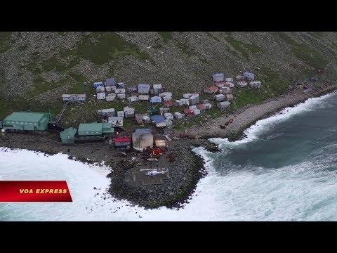 Diomede, hòn đảo cô lập ở Alaska (VOA)