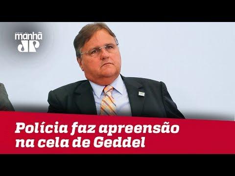 Polícia Faz Apreensão Nas Celas De Geddel E Luiz Estevão, Na Papuda