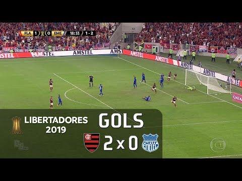Flamengo 2 X 0 Emelec - Libertadores 2019
