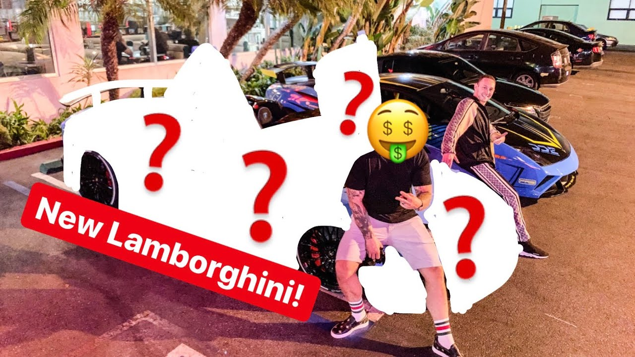 MY FRIEND BUYS NEW LAMBORGHINI AFTER CRASHING HIS OTHER LAMBORGHINI!